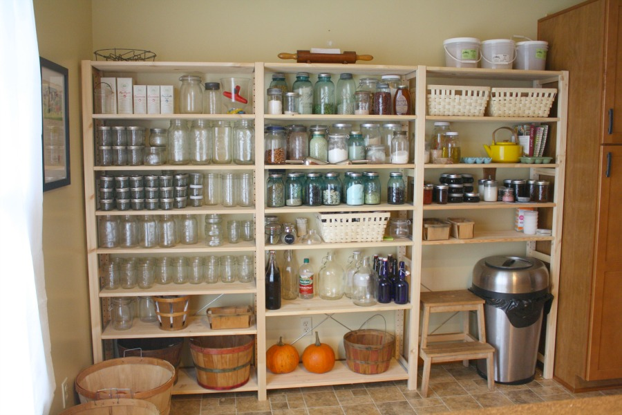 Real food pantry farmish momma for Ikea butlers pantry