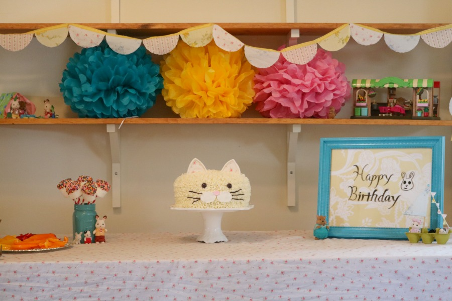 Calico Critters birthday party