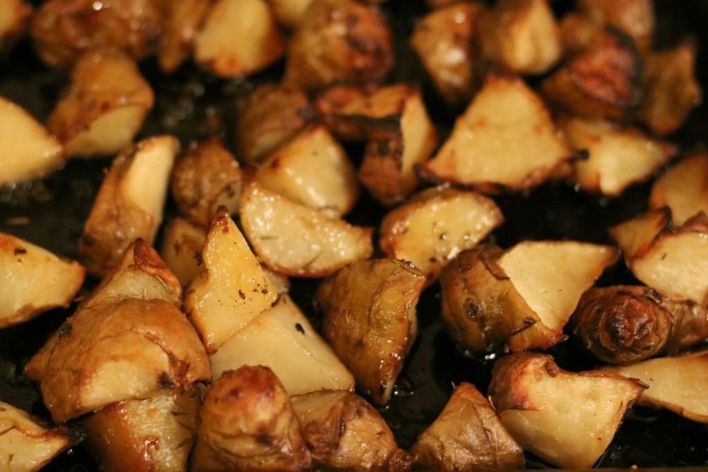 roasted sunchokes jerusalem artichokes